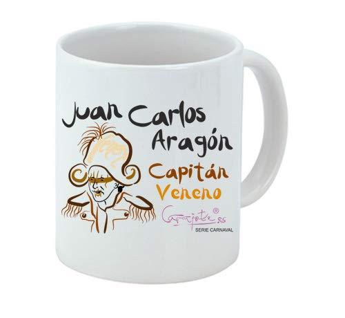 Taza Serie Carnaval Capitán Veneno