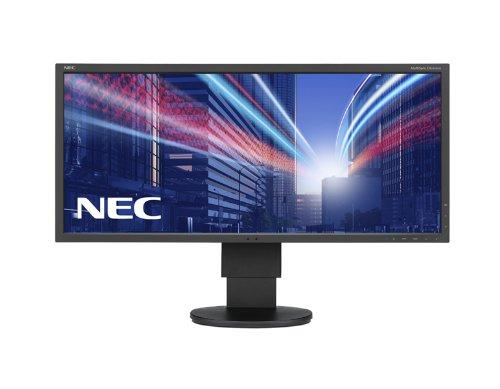 NEC Multisync EA294WMi-BK schwarz 74cm 29Zoll TFT W IPS W-LED 2560x1080 2xDVI-D w/HDCP 1xHDMI/MHL 1dxdisplayport USB