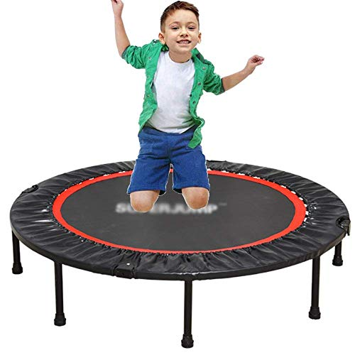 TBTBGXQ Foldable Trampoline Fitness Indoor Trampoline for Adults Stable Quiet Exercise Rebounders Trampolines for Kids Outdoor Garden Workout Equipment