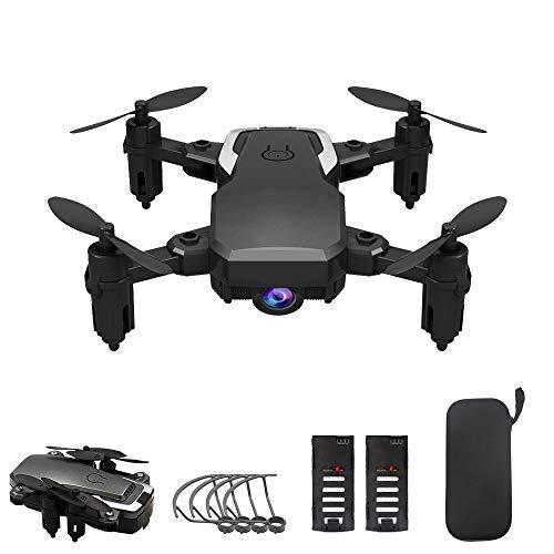 OBEST Mini Drone con Fotocamera 1080P WiFi Pieghevole Quadricottero RC Telecomando Senza Testa (Altitude Hold) Super Easy Fly per Allenamento