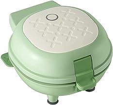 220 V elektrische mini-broodrooster, multifunctioneel, sandwichera, antiaanbaklaag (kleur: groen)