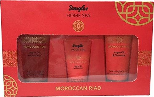 Douglas Beauty System - Home Spa - Moroccan Riad - Set - Argan Oil & Cinnamon - Body Lotion 75ml + Shower Gel 75ml + Hand Cream 30ml