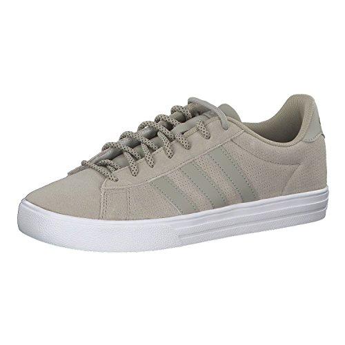 adidas Daily 2.0, Chaussures de Basketball Homme, Vert (Sesame Sesame Tracar Sesame Sesame Tracar), 40 EU