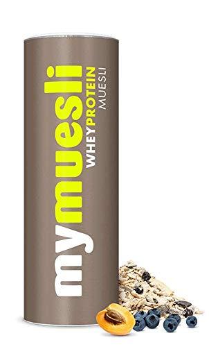 Whey Protein Müsli von mymuesli – Protein Müsli – 1x 575g – 30% Eiweiß & ohne Zuckerzusatz – Bio-Müsli – Hergestellt in Deutschland aus 100% Bio-Zutaten