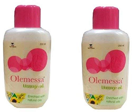 Menarini Olemessa Baby Massage Oil 200ml Pack of 2