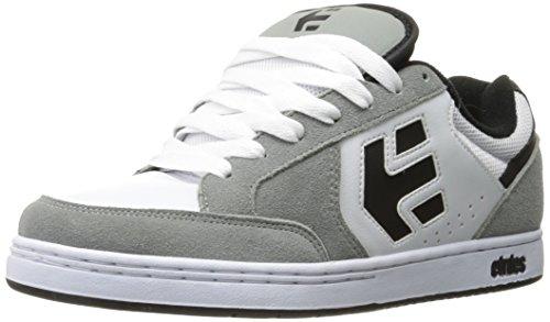 Etnies Swivel, Zapatos de Skateboard Hombre, Negro (Black/Grey 570), 48 EU