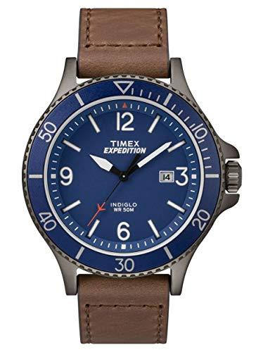 Timex TW4B10700 - Orologio da uomo con movimento al quarzo, quadrante analogico classico e cinturino in pelle