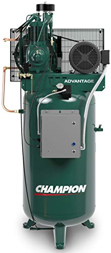 Champion VR5-8 5HP 80 Gallon Vertical 230V Single Phase Advantage Series Fully Packaged Air Compressor