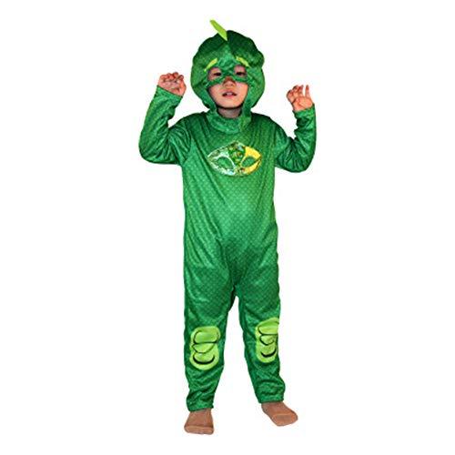 DISCOUNTL Disfraz de Halloween para nios, disfraz de hombre enmascarado, disfraz de anime de dibujos animados de la pelcula de rendimiento de disfraces de pequeo hroe