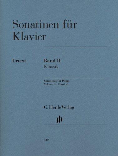Sonatinen für Klavier Band II, Klassik; Klavier 2 ms