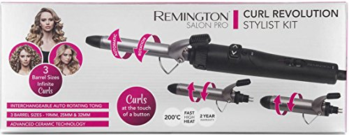 Remington Curl Revolution Curling Iron Stylist Kit