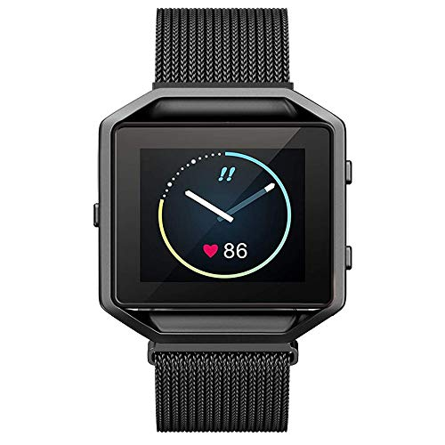 Metal Bands Compatible with Fitbit Blaze Smart Watch, Small and Large...