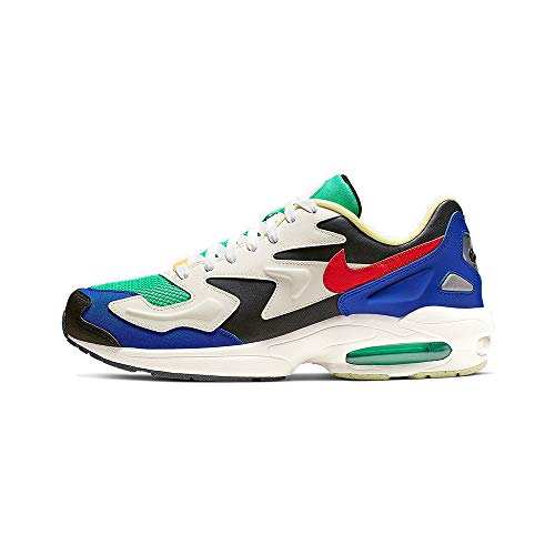 Nike Air MX Light 2 SP, Zapatillas para Correr para Hombre, Dark Obsidian/Sail/Racer Blue, 45 EU