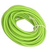 VGEBY Tubo in Lattice Fionda, Tubo in Lattice da 32,8 Piedi Corda Elastica 1,7 mm ID / 4,5 mm OD per Fionda Catapulta Caccia all'aperto Fitness(Verde)