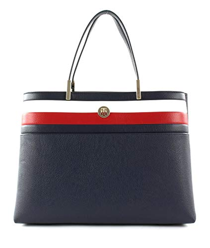 TOMMY HILFIGER TH Core Satchel Corporate Corporate Blue