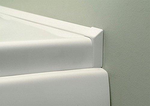 Abschlußleisten Set für Badewannen 2x195cm + Ecken