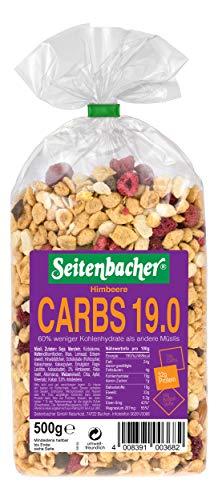 Seitenbacher Müsli Low Carb 19.0 Himbeer, 3er Pack (3 x 0.5 kg)