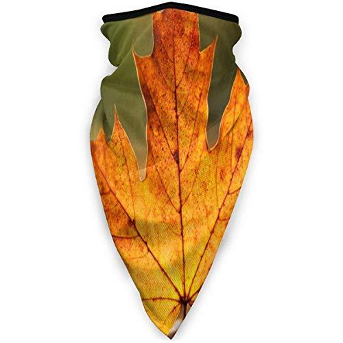 NA Hals Gamas bivakmuts ademend gezichtsmasker winddicht esdoorn bladeren halswarmer sjaal voor buiten