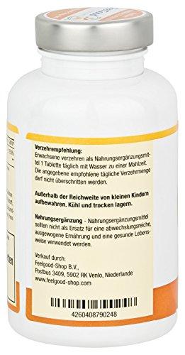 """Vitamin C 1000mg Time Released – Das """"Wundervitamin"""" in Höchstdosierung mit zeitverzögerter Abgabe über viele Stunden. Für ein starkes Immunsystem, u.v.m. (100 Tabletten) - 5"""