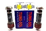 Tung-Sol EL34B EL34 6CA7 Correspondants Paire Aspirateur Testé Valve de Vide
