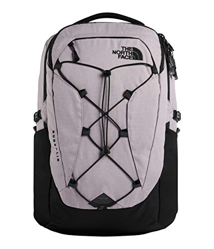 The North Face Women's Borealis Backpack, Ashen Purple Light Heather/TNF Black, One Size