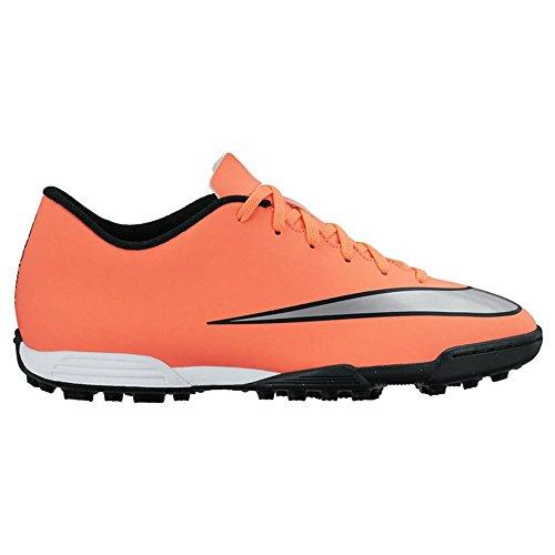 Nike Herren Mercurial Vortex II TF Fußballschuhe, Gelb Silber Grün Brght MNG Mtllc Slvr Hypr TRQ, 39 EU