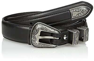 Nocona Belt Co. Men's Black Basic Ranger, 40