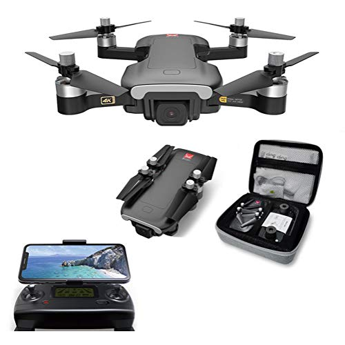 WXFXBKJ HD GPS Drones, B7 GPS Drone with 4K 5G WiFi HD Camera Brushless Motor RC Quadcopter Professional Foldable Helicopter VS SG907 K20 (Color : B7 3B Original Box)