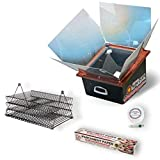 Sun Oven Solar Energy All American Sun Oven with Dehydrating Accessory Pack with Baking Rack Set,...