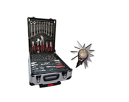 Platinum Tools - Maletín de herramientas con 399 piezas de carraca