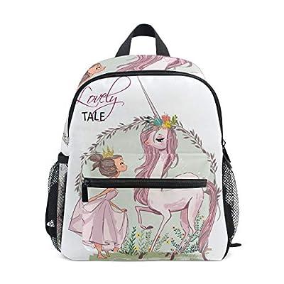 Mochila para niños Unicornio con Bolsa de Preescolar para Kindergarten para niñas pequeñas para niños pequeños