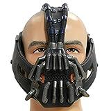 Bane Maske Cosplay Kostüm Erwachsene Herren Halloween Latex Gesicht Helm Karneval Party Merchandise...