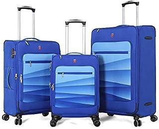Giordano luggage - AR59 soft case trolley 3 pcs set with 4 wheel