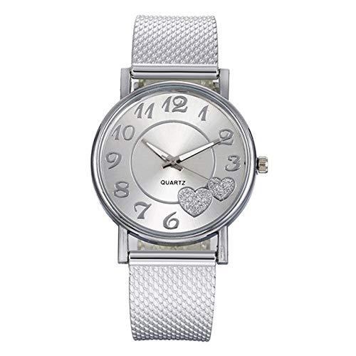 Las mujeres de la moda de malla del reloj de la señora salvaje creativo relojes de regalo para mujer gota de compras relojes para las