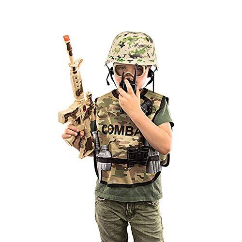 Toi-Toys 15454A Army Set Kinder Freizeit Wald Fasching Kostüm Jungen Soldat Armee