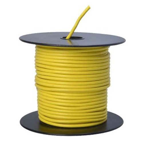 Southwire 55670823 Primary Wire, 14-Gauge Bulk Spool, 100-Feet, Yellow