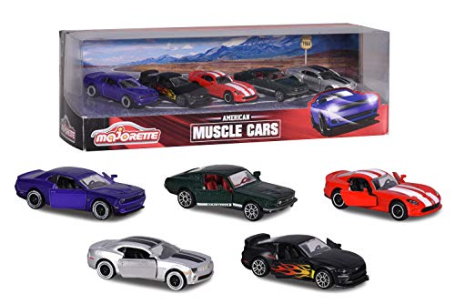 Majorette- Véhicule Miniature - Muscle Cars, Multicolor (212053168)