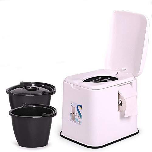 Thole Inodoro Portátil Químico Baño WC Mudo Tapa para Camping Viaje Ancianos...