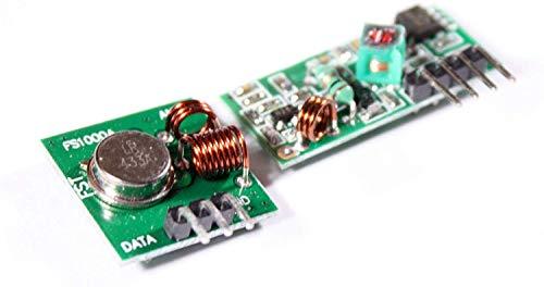 433MHz Sender und Empfänger-Modul + PDF-Anleitung für Arduino, FS1000A mit Beispielcode
