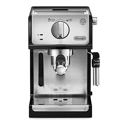 Unbekannt Ekspres do kawy przemysłowy ekspres do kawy z filtrem, półautomatyczny ekspres do kawy (kolor : srebrny, rozmiar: 20 x 25 x 30 cm)