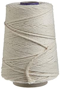 Professional grade - Regency cooking Twine, also known as butcher's twine, has been used by the top chefs of finest hotels and restaurants worldwide for over 35 years! Natural - Our twine is made of 100% 16PLY cotton, which makes it Strong enough for...