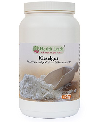 Kieselgur pulver 500g (aus Süßwasserquelle, Lebensmittelqualität) 100% natürlich, frei von Magnesiumstearat & ohne Zusatz- oder Füllstoffe, sorgfältig ausgewählte Zutaten, hergestellt in Wales