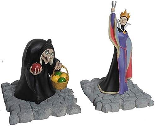 Disney Snow Weiß Evil Queens Statue Set by David Kracov & EFX