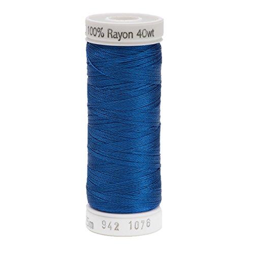 Sulky Roi Blue-Thread Rayonne 40, Acrylique, Multicolore