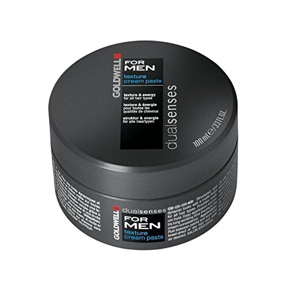 にんじんかすれた首Goldwell Dualsenses For Men Texture Cream Paste (100ml) - 男性のテクスチャーのクリームペースト(100ミリリットル)のためのの [並行輸入品]