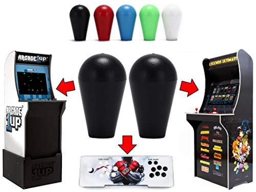 Alvatron Set of 2 Joystick Bat Tops for Arcade1up, AtGames Legends Ultimate Arcade, Pandora