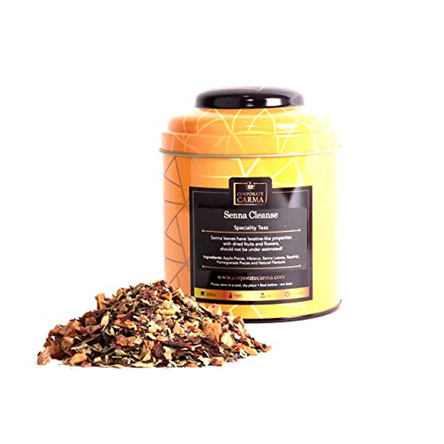 Corporate Carma loose leaf tea - Senna Cleanse - 125g Tea Caddy