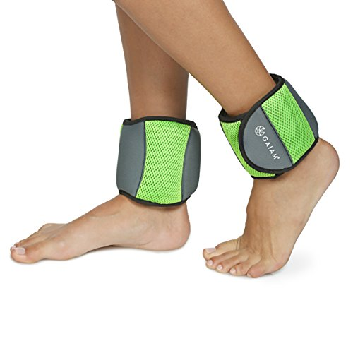 Gaiam Ankle Weights Strength Training Weight Sets For...