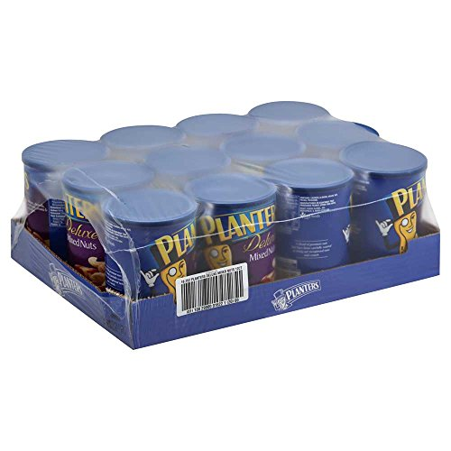 Planters Deluxe Mixed Nut, 18.25 Ounce -- 12 per case.