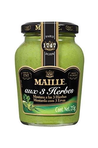 Maille Mostaza a las Tres Hierbas - 215 gr